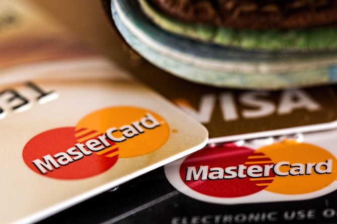 Zahlen per Kreditkarte